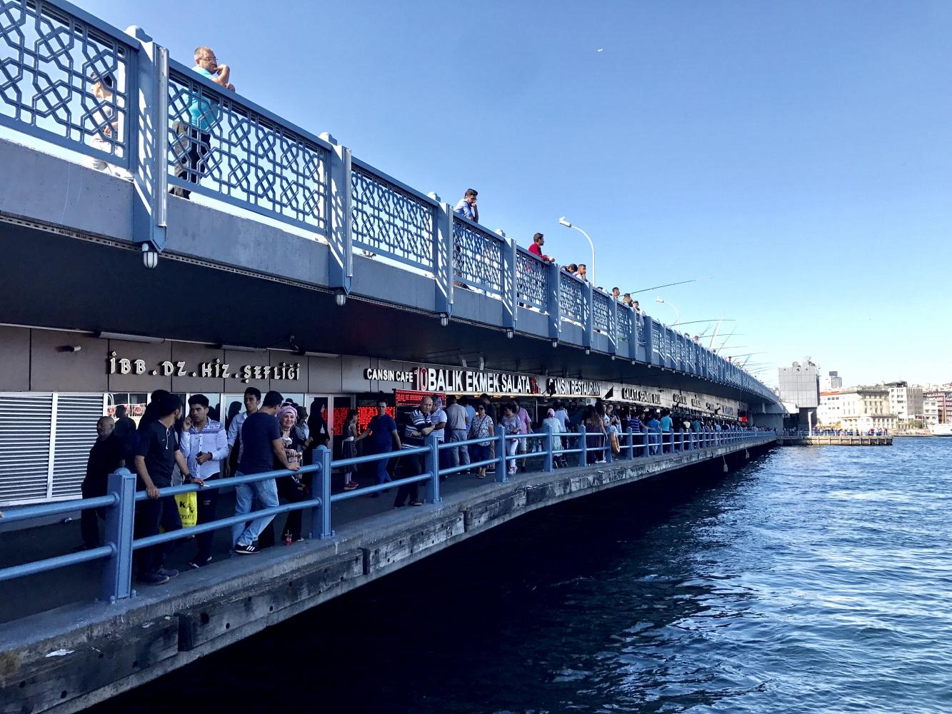 The Galata Bridge, Istanbul