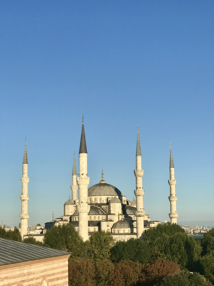 View from Ibrahim Roof Terrace