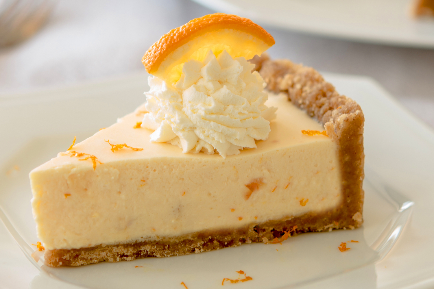 Frozen Orange Pie